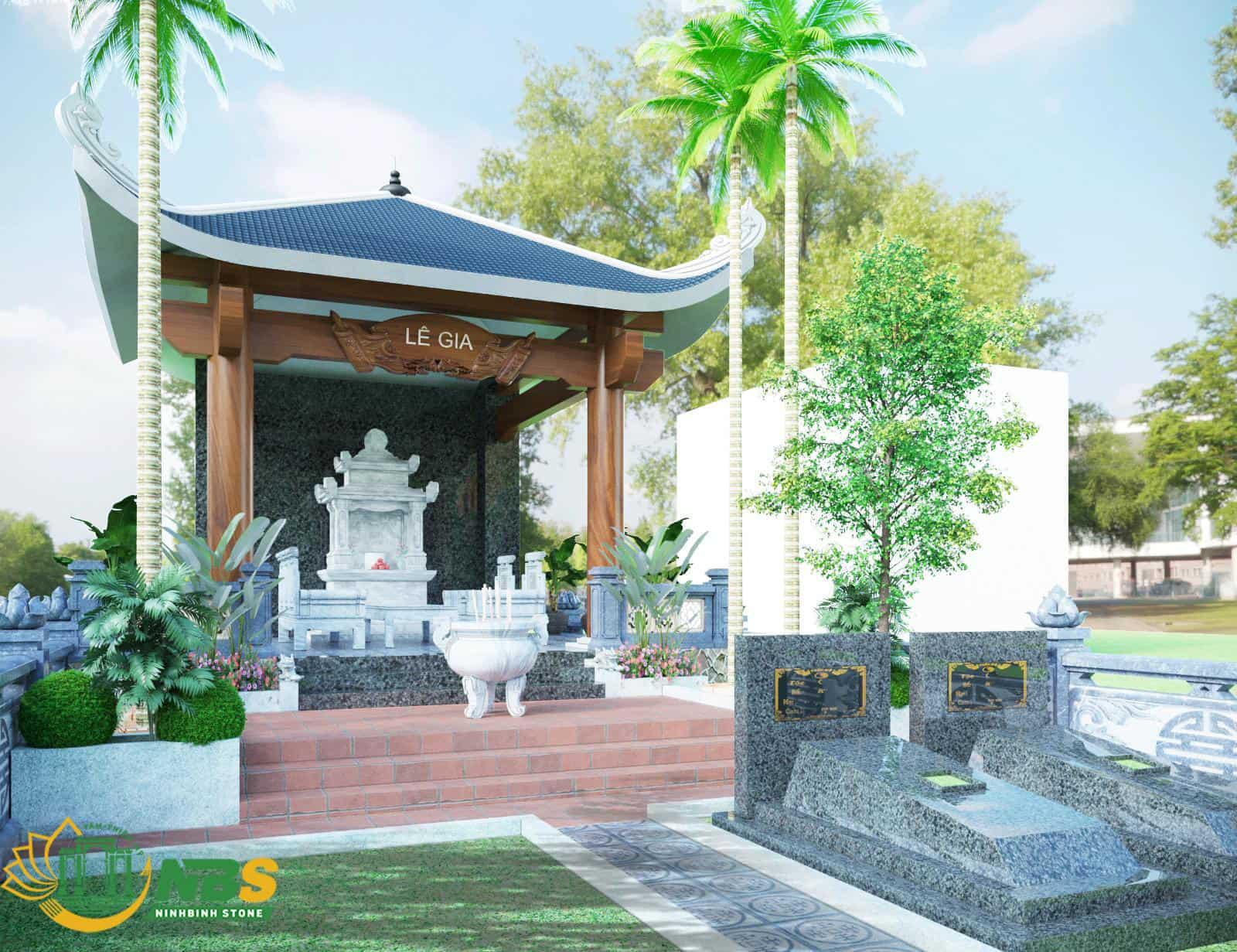 Mẫu mộ tổ đẹp của Ninh Bình Stone
