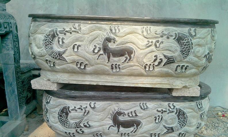 Mẫu chậu cảnh đá đẹp của Ninh Bình Stone