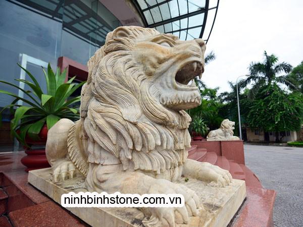 Tượng Sư tử đá của Ninh Bình Stone