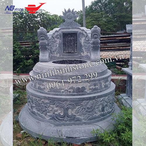 Mẫu mộ đá tròn đẹp của Ninh Bình Stone
