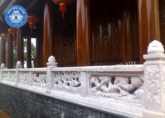 Lan can đá nhà thờ họ - Ninh Bình Stone