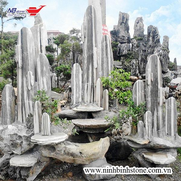 Hòn non bộ đá tuyết sơn của Ninh Bình Stone