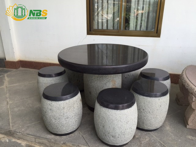 Mẫu bàn ghế đá đẹp của Ninh Bình Stone