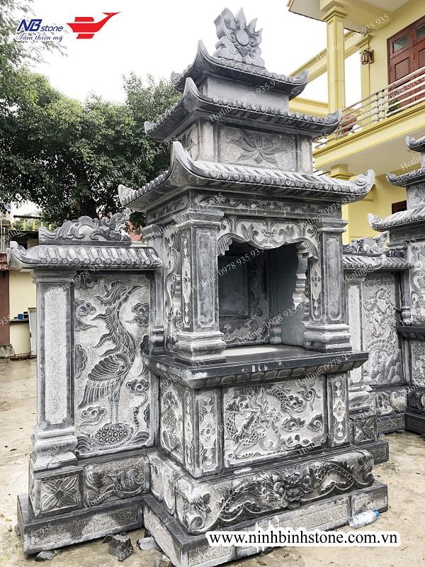 Mẫu lăng thờ đá đẹp, điêu khắc tinh xảo của Ninh Bình Stone