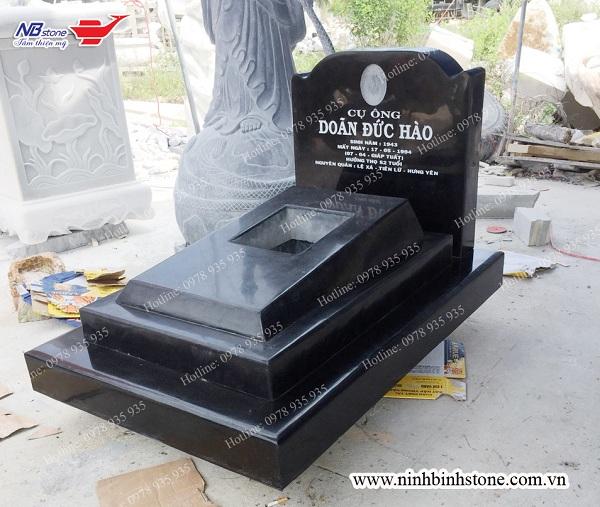 mộ đá granite