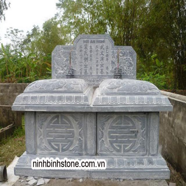 Tìm hiểu kích thước xây mộ đôi cải táng
