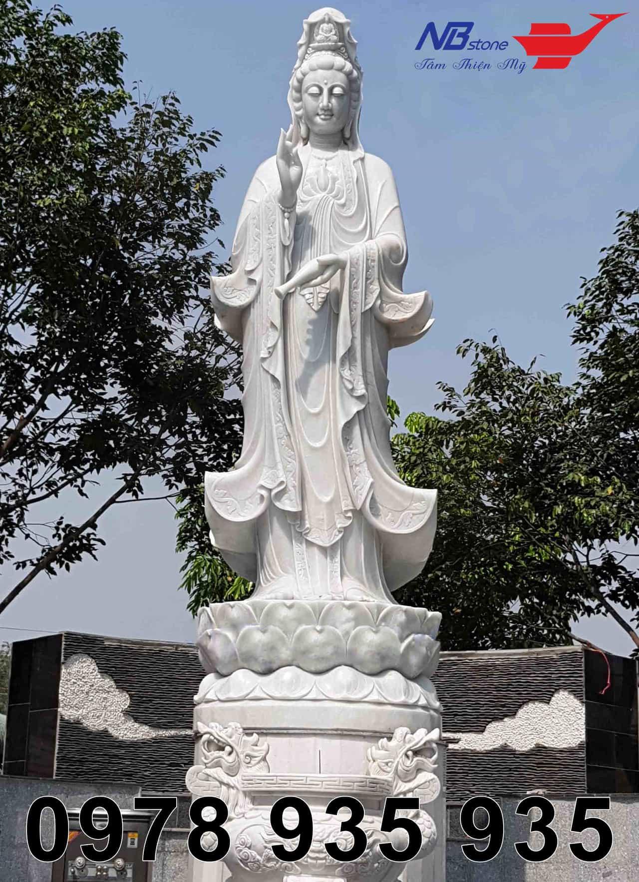 15 mẫu tượng phật quan âm đẹp nhất tại Ninh Bình Stone