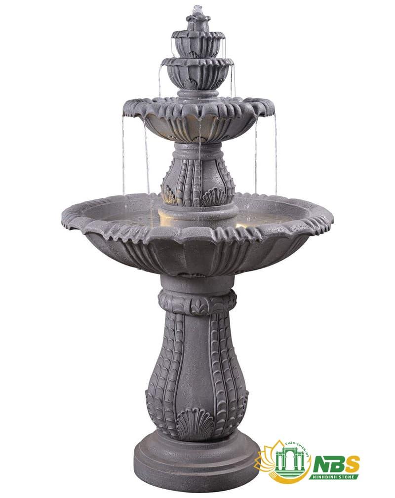 Mẫu đài phun nước mini bằng đá tự nhiên đẹp, giá tốt