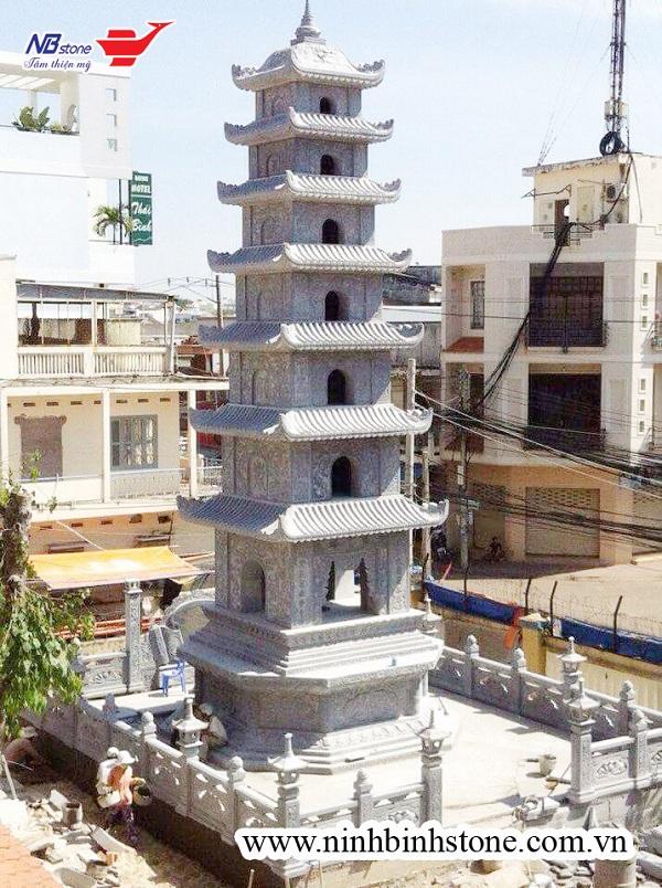 Ý nghĩa và vị trí đặt mộ tháp hợp phong thủy