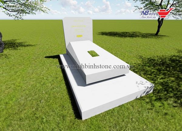 mộ đá đơn đẹp