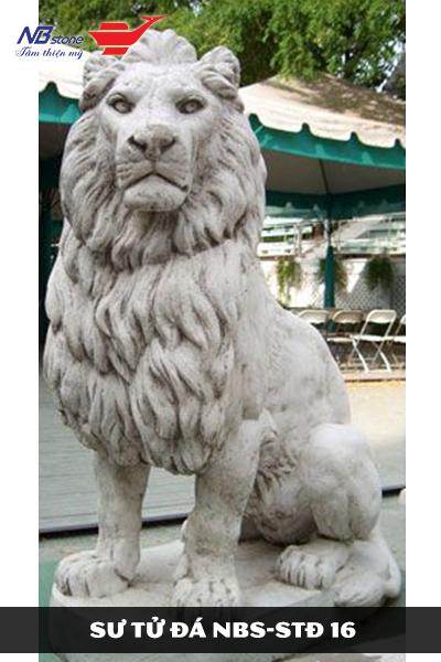 Top 10 mẫu tượng sư tử đá trấn tốt nhất 2020
