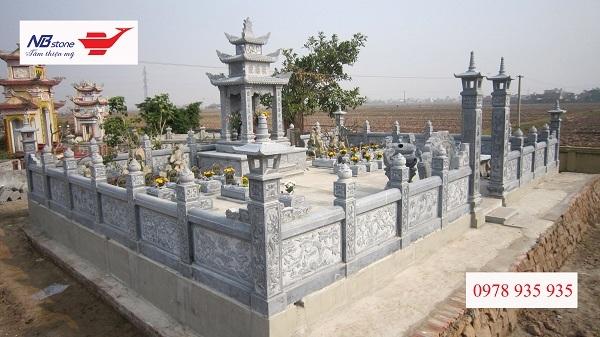 Lan can đá khu lăng mộ - Ninh Bình Stone