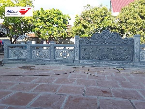 Lan can đá đền chùa - Ninh Bình Stone