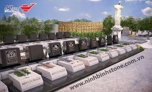 Hình ảnh mộ đá hoa cương đẹp - khu lăng mộ đá hoa cương đẹp của Ninh Bình Stone