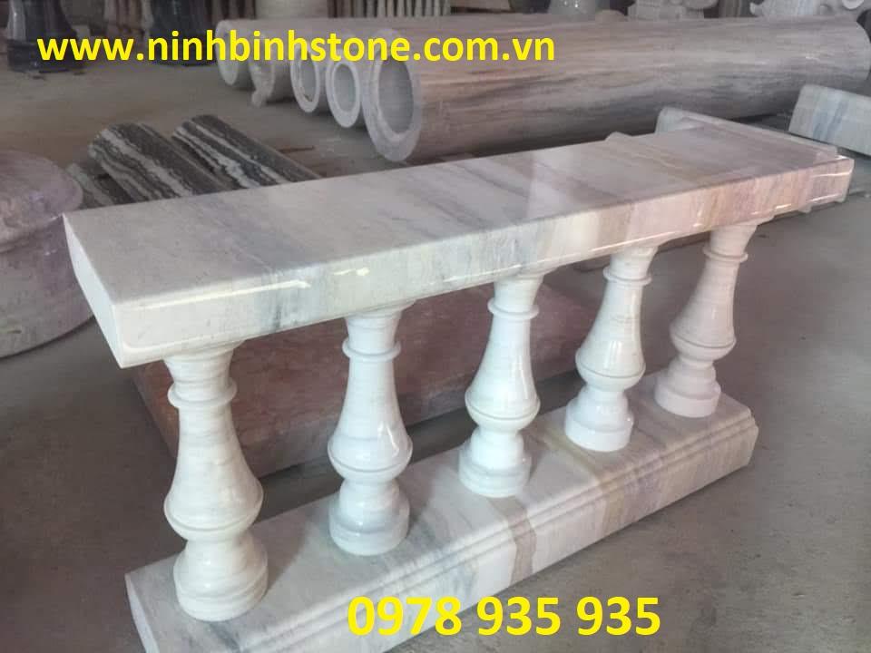 Con tiện đá trắng đẹp của Ninh Bình Stone