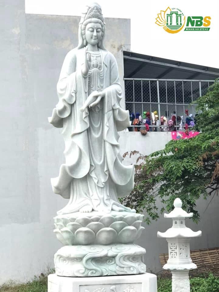 Tượng Phật Quan Âm của Ninh Bình Stone