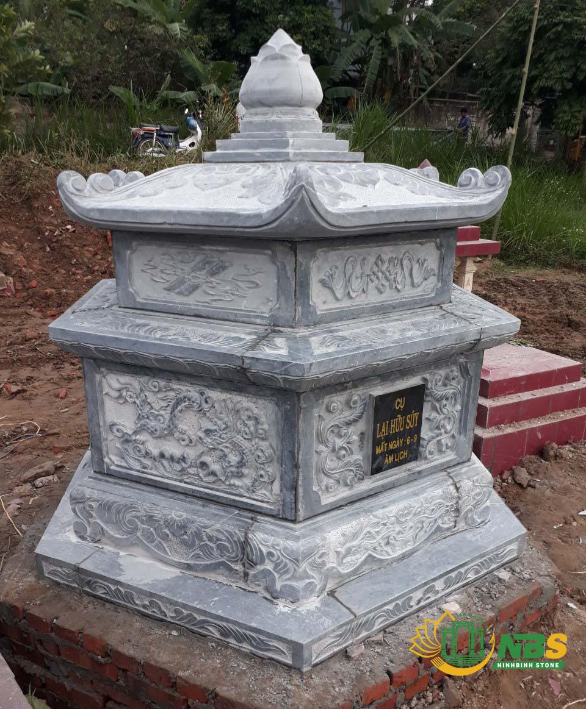 Mẫu mộ đá lục lăng đẹp của Ninh Bình Stone - Mộ đá hình lục giác