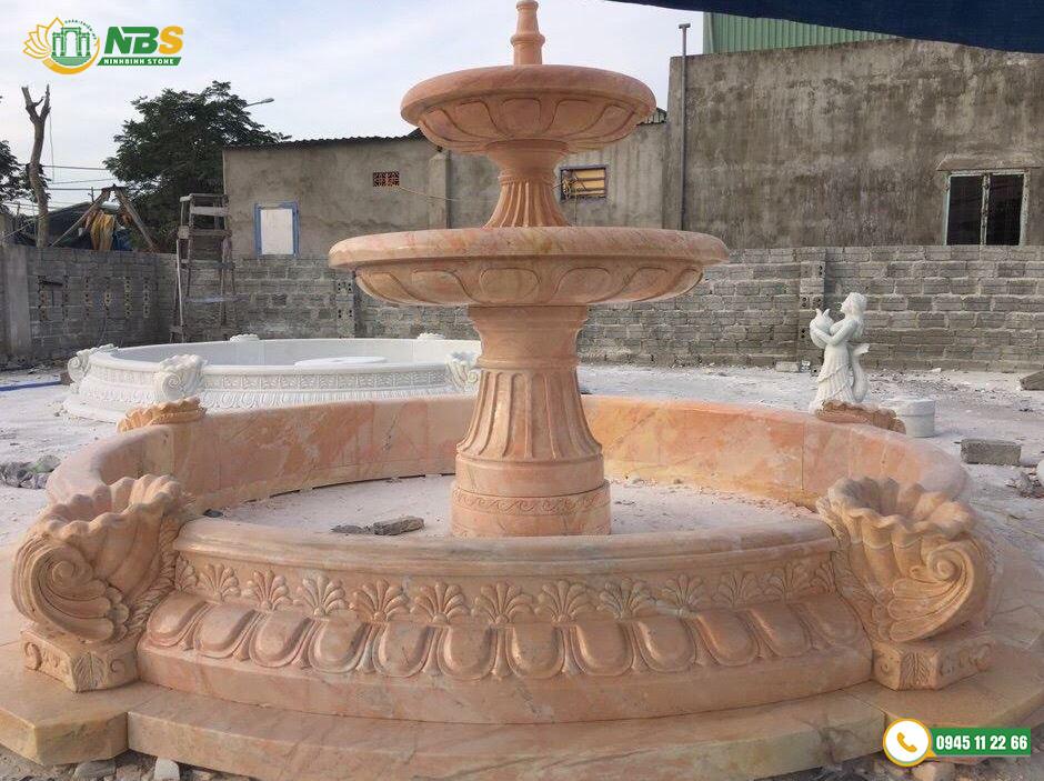 Thi công đài phun nước đẹp tại Ninh Bình Stone