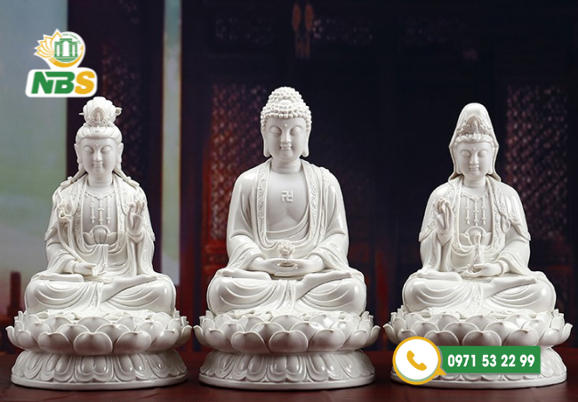 Những bức tượng Phật thể hiện đức tin của con người vào thế giới tâm linh