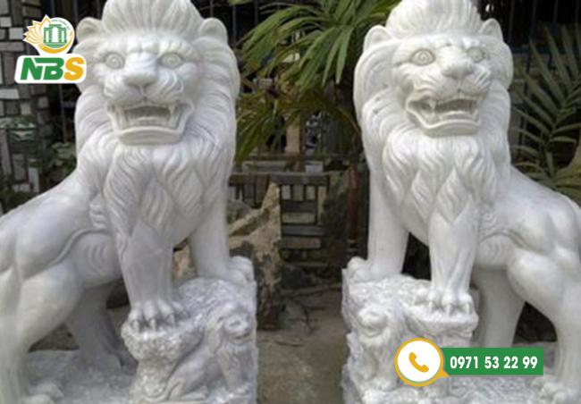 Sư tử đá là vật phẩm phong thủy nổi tiếng